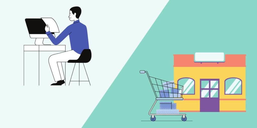 市販とネット化粧品の比較